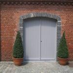 Houten bredere deur