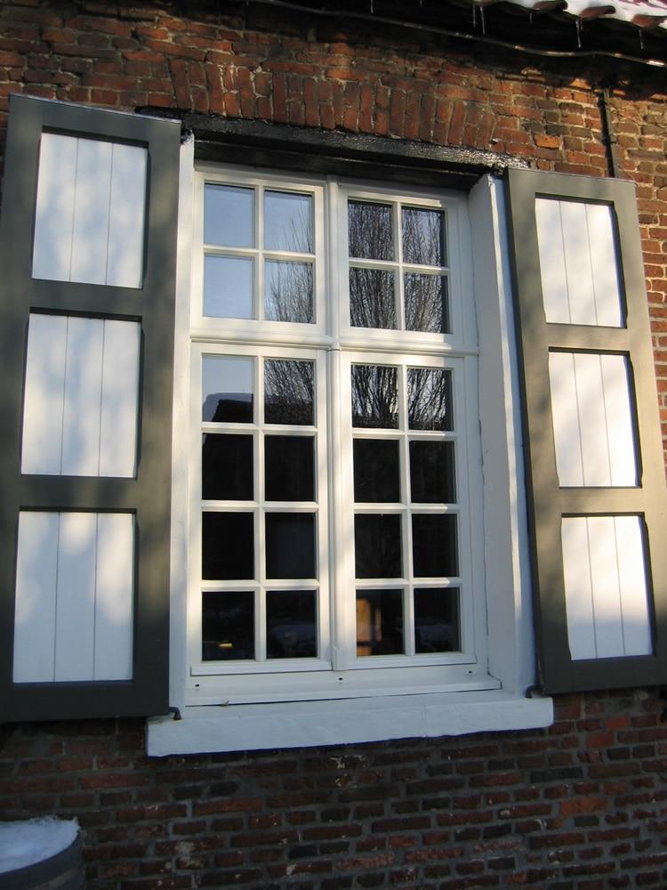 Houten raam